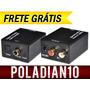 Envio Grátis !! - Conversor Audio Digital X Stéreo Analógico