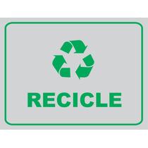 Placa Recicle