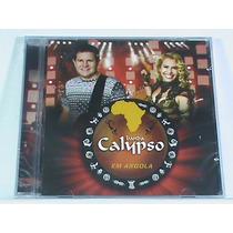 Cd - Banda Calypso - Em Angola (novo-lacrado- Frete R$ 6,90)