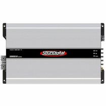 Modulo Potencia Soundigital Sd8000 8000w Rms Evolution