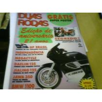Revista Duas Rodas N°241 Com Poster Luca Cadalora