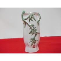 B. Antigo - Vaso Miniatura Em Porcelana Chinesa Assinado