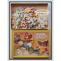 Quebra Cabeça - Pato Donald - Coluna - Anos 60 - F(255)