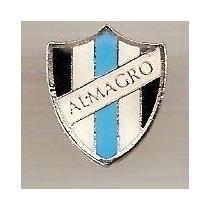 Pin Metal Almagro / Argentina - Futebol Botão