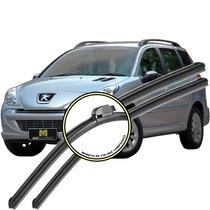 Palheta Peugeot 207 Sw - 2008 Em Diante - Kit Diant. E Tras.