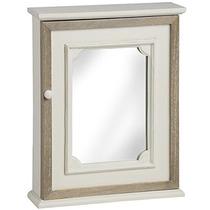 Parede Cabinet - Creme Pavilion Creme Chique Espelho
