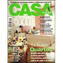 Revista Casa Claudia Nº 01 - Janeiro/98 - Editora Abril S/a