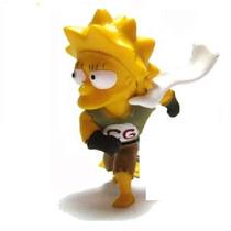 Lisa Clobber Girl! Rara!!serie Simpsons Long Jump!