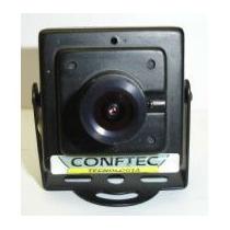 Mini Câmera Segurança Color Day Night Ccd Sony Aquicompras