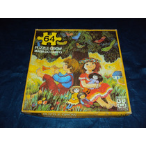 Brinquedo Antigo, Jogo Quebra Cabeça Magia Do Campo De 1980