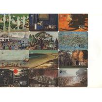 Loucura Série Museus Completa(81 Cartões) Telebras