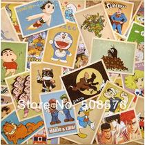 32 Cartoes Postais Envelhecidos - Desenhos Animados