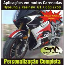 Adesivo Personalização P/ Moto Kasisnki Comet (guga Tuning)