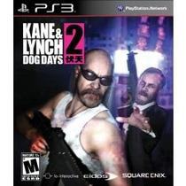 Kane & Lynch 2 Dog Days - Jogo Playstation 3 Coop Offline