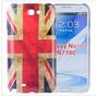 Capa Case Skin Bandeira Grã-bretanha Samsung Galaxy Note 2
