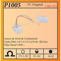 Medidor De Combustivel Lin Palio 1.0/1.3/1.5/1.68/16v. Alc/g