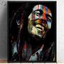 Quadro Art Impressa Bob Marley Photo Matte Tamanho 80x100