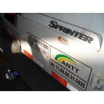 Engate Fixo E Removível Para Mercedes Sprinter 2009/2010