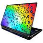 Skin Adesivo Notebook Bolhas Chuva 3d Neon Babond Skdi2929