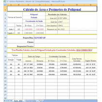 Planilha Excel Calculo Topografia E Estradas