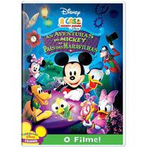 Dvd A Casa Do Mickey Mouse Aventuras No País Das Maravilhas