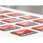 10 Adesivos / Etiquetas Resinadas Personalizadas 30 X 15 Mm