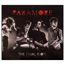 Paramore - The Final Riot! Cd+dvd Novo Importado