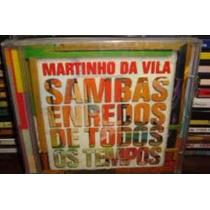 Cd Martinho Da Vila - Sambas Enredo De Todos - Frete Gratis