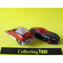 Hot Wheels - Chrysler + Mcdonald' - 2 Carros Sucatas (zx 6)