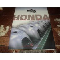 Honda 25 Anos De Brasil História 128pgs. Capa Dura Livro