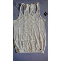 Hollister Camiseta Fem Preco Reduzido Nova Original
