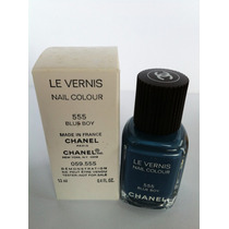 Esmalte Chanel Tester 555 Blue Boy