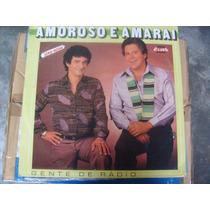 Amoroso E Amaraí - Música Sertaneja Lp Vinil Autografado