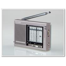 Rádio Receptor Tecsun R-9710 Am Fm Stéreo Sw Dupla Conversão
