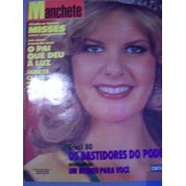 Revista Manchete - Eveline Schroeter Miss Brasil 1980