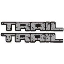 Adesivo Trail - Cinza Grande - Mmf Auto Parts