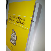 Kit Catecismo Da Igreja Católica - 01 Grande + 01 Pequeno