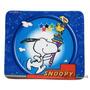Mouse Pad Snoopy Em Tecido Emborrachado - Original Woodstock