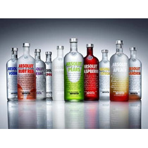 Vodka Absolut - 1lt - Tradicional E Sabores 100% Original