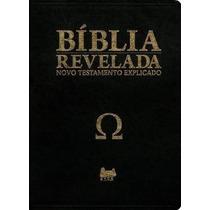 Bíblia Revelada Ômega + Bíblia Chronos Frete Grátis