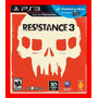 Jogo Resistance 3 - Compativel Com Ps Move Ps3 Playstation 3