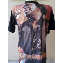Camisa James Brown - Mr Dynamite