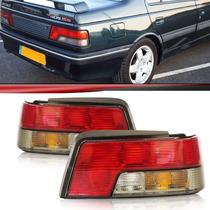 Lanterna Traseira Peugeot 405 96 97 98 Bicolor