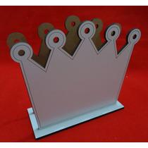 Coroa Principe Porta Guadanapo - Mdf- Corte A Laser