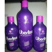 Avlon Novo Kit Escova Progressiva Uberliss