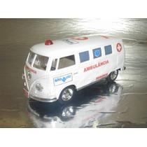 ( L - 50 ) Viatura Vw Kombi Ambulância Hospital São Luiz