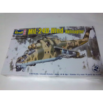 Mil-24d Hind Helicopter Revell