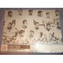 Nautico Poster Penta Campeão Pernambucano 1967 21x27 Cm
