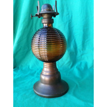 Centenário Lampião Querosene Ambar E Latão
