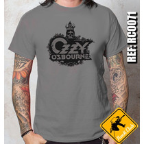 Camiseta De Banda - Ozzy Osbourne - Rock,death,trash,punk,hc